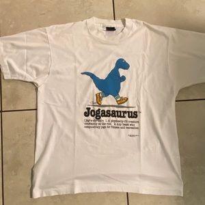 Cliff Galbraith Jogasaurus vintage 80s T shirt XL